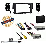 Metra 95-7812B Double DIN Install Dash Kit for Select 2016-Up Honda Civic LX Axxess XSVI-1731-NAV Data Interface And Antenna Adapter