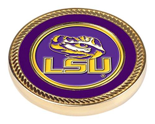 NCAA LSU Tigers - Challenge Coin / 2 Ball - Lst Golf