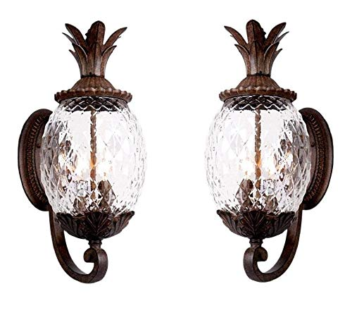 Pineapple Outdoor Light Sconces in US - 6