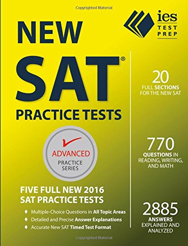 Download New SAT Practice Tests (Advanced Practice Series) book pdf