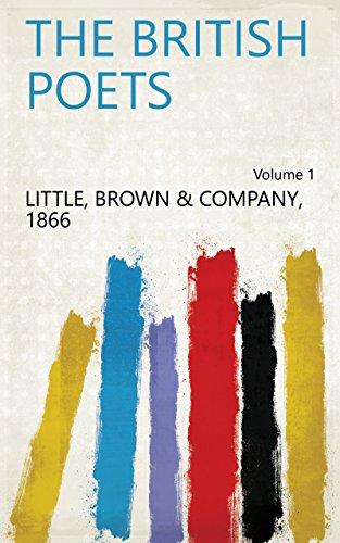 The British Poets Volume 1