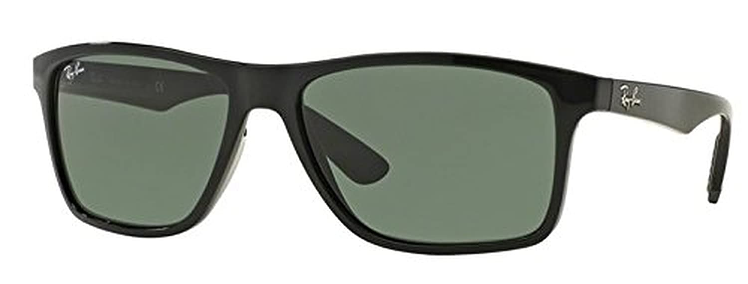 37d8315401 Amazon.com  Ray-Ban Active Lifestyle RB 4234 Sunglasses Black   Grey Green  58mm   HDO Cleaning Carekit Bundle  Clothing