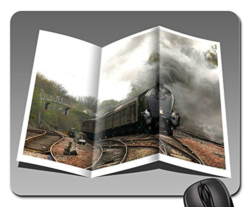 Locomotives Booklet - Mouse Pads - Booklet Pamphlet Train Engine Locomotive Steam