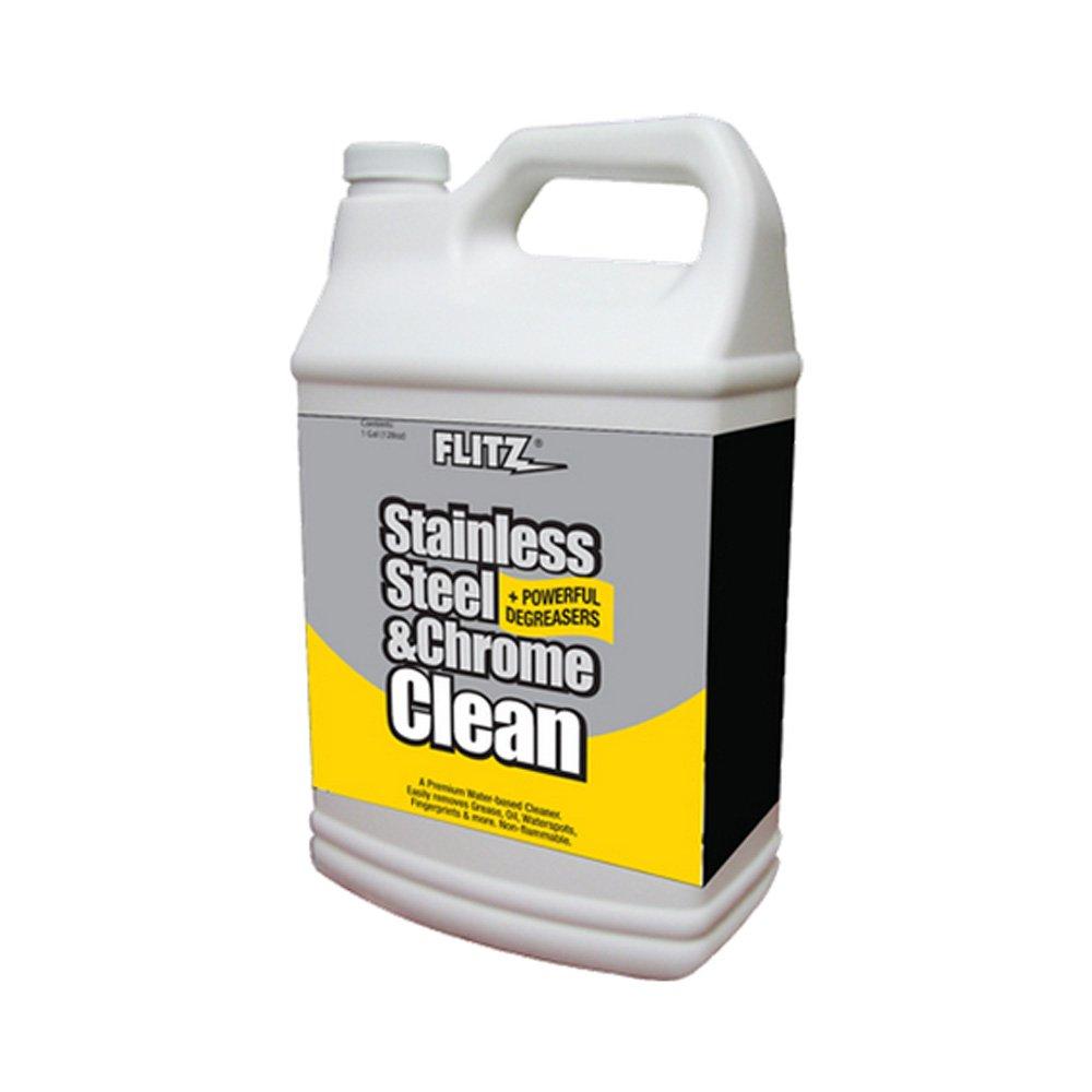 Flitz Stainless Steel & Chrome Cleaner w/Degreaser - 1 Gallon by Flitz