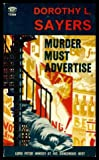 Murder Must Advertise, Dorothy L. Sayers, 0451033698
