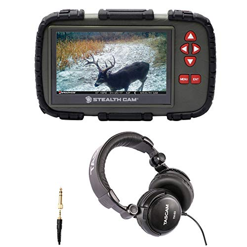 Stealth Cam SD Card Viewer (for Videos/Images) with 4.3