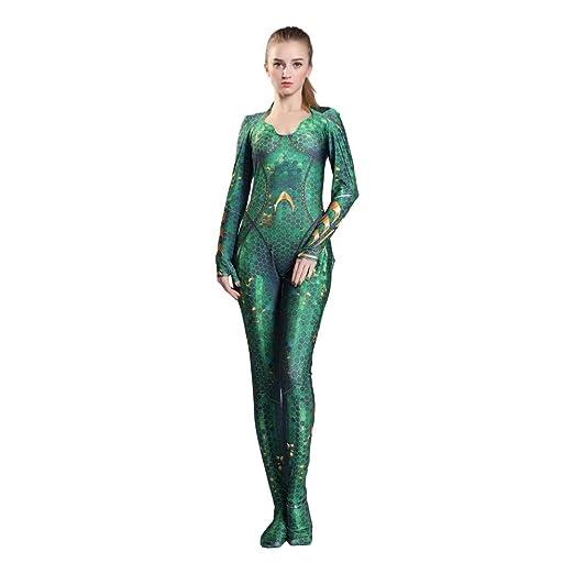 BGHKFF Mera NiñO Adulto Disfraz Cosplay Vestido Halloween ...
