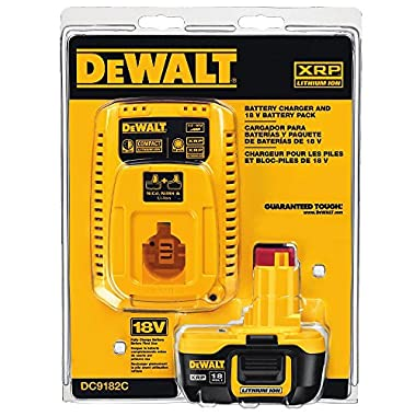 DEWALT DC9182C 18V Lithium Ion Battery and Charger