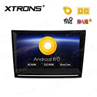 XTRONS 8 Inch Android 8.0 Octa Core 4G RAM 32G ROM Multi Touch Screen Car Stereo Player GPS DVR Wifi TPMS OBD2 for Porsche 911 Cayman Boxster