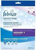 Febreze Hoover Y Replacement Vacuum Bag, 3-Pack