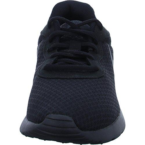 Nike Mænds Tanjun Sneakers, Åndbar Tekstil Overdel Og Komfortabel Letvægts Polstring Sort / Antracit
