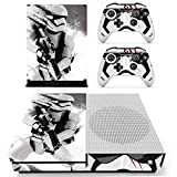 Cheap Vanknight Xbox One S Slim Console Remote Controllers Skin Set Vinyl Skin Decals Stciker Cover for Xbox One Slim (XB1 S) Console