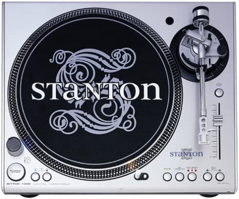 Stanton STR8-100 Direct-Drive Digital Turntable with Straight Tone Arm Discontinued by Manufacturer