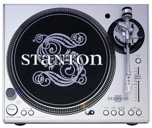 Stanton STR8-100 Direct-Drive Digital Turntable with Straight Tone Arm (Discontinued by Manufacturer)