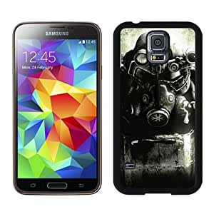 Fallout Enclave Armor Black Case Cover for Samsung Galaxy S5 i9600 Grace and Cool Design