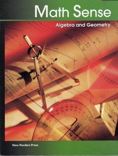 Algebra and Geometry (Math Sense)