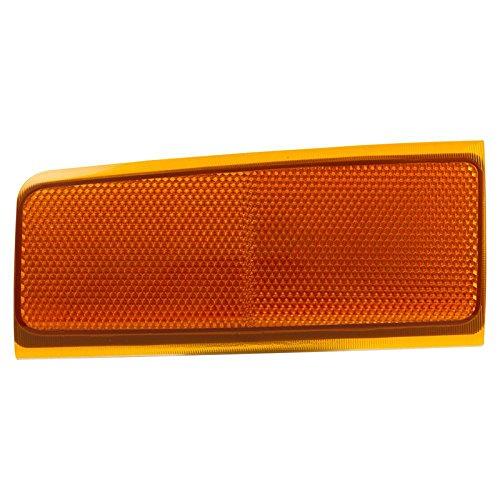 CarPartsDepot 88-02 CHEVY GMC C/K 1500 2500 LH SIDE MARKER LAMP LIGHT SEALED BEAM SUBURBAN NEW