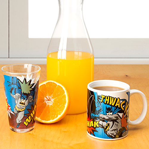 Zak Designs DC Comics Batman Coffee Cup, 11 oz