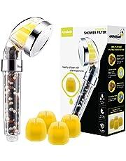 Aerobath Shower Head Handheld Vitamin C Shower Filter, High Pressure Water Saving, Chlorine & Flouride Showerhead Filter for Dry Skin & Hair