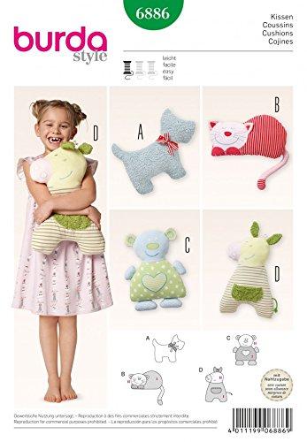 Free UK P/&P Burda Craft Easy Sewing Pattern 8591 Doll Clothes /& Bab...
