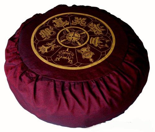 Meditation Cushion Zafu Buckwheat Pillow