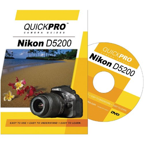 Nikon D5200 Instructional DVD by QuickPro Camera ()