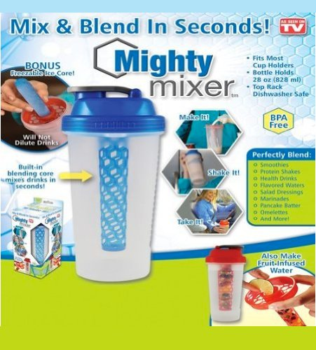 1 X Mighty Mixer Blender Bottle