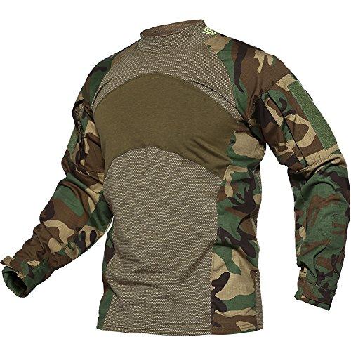 Duty Uniform - TACVASEN Tactical Combat Quick Dry Shirt Military Duty Uniform Hunting T-Shirt Jungle,US L