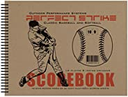 Perfect Strike Baseball SCOREBOOK with Rules and Scoring Instructions : Heavy-Duty. Great for Baseball and Sof