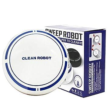 JAOMoy Robot arrebatador Elegante casero de la Carga por USB, aspiradora de la Limpieza de la Sala de Estar del Dormitorio de la Cocina del hogar,White: ...
