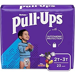 Pull-Ups Learning Designs Boys' Training Pants, 2T-3T, 23 Count
