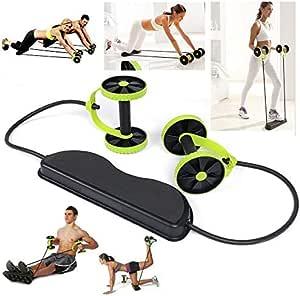 معدات لياقة بدنية بتصميم حزام يقوم بتحفيز عضلات الجسم كاملة بوقت واحد