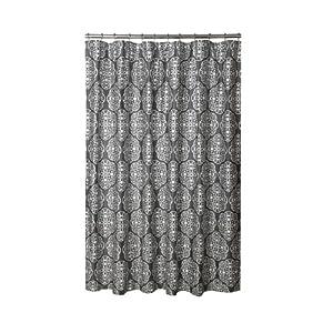 Harmony Storm Grey Shower Curtain