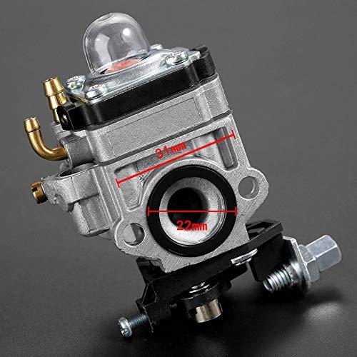 JCB HURI Full Carburettor Carb Diaphragm Gasket Primer Bulb Check