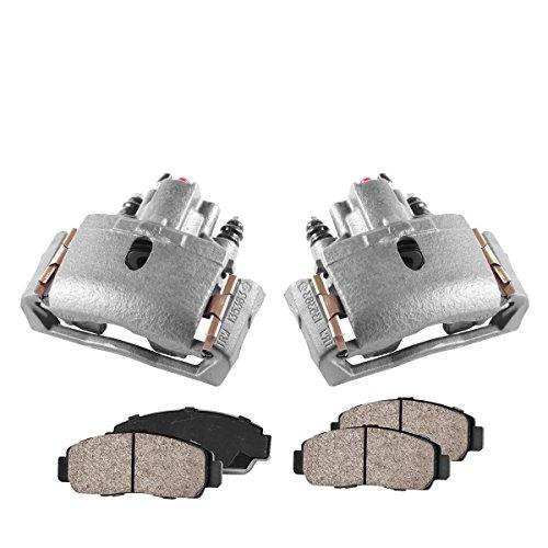 - COEK00278 [2] REAR Premium Loaded OE Caliper Assembly Set + Quiet Low Dust Ceramic Brake Pads
