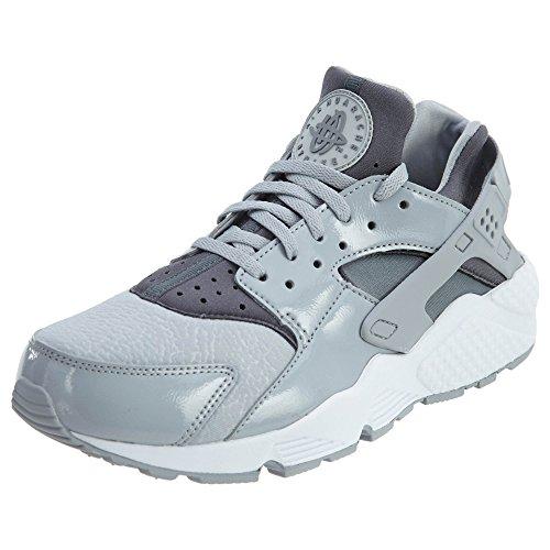 Nike Air Huarache Run Womens Shoes Wolf Grey/Cool Grey-Black 634835-023 (8 B(M) US) by NIKE