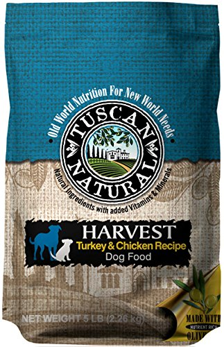 Tuscan Natural Pet Food Harvest Turkey And Chicken Dog Food Recipe, 28.6 Lb