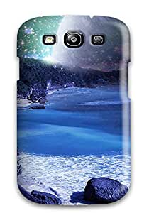 Durable Beach Sci Fi Back Case/cover For Galaxy S3