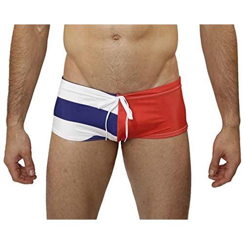 5826bce5a7 Mensuas Men's Cuba Flag Swim Trunk 60%OFF - westexmetal.com