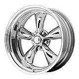 American Racing VN405 Custom Torq Thrust 2- Piece Polished Wheel with Polished Finish (18.00x8.00
