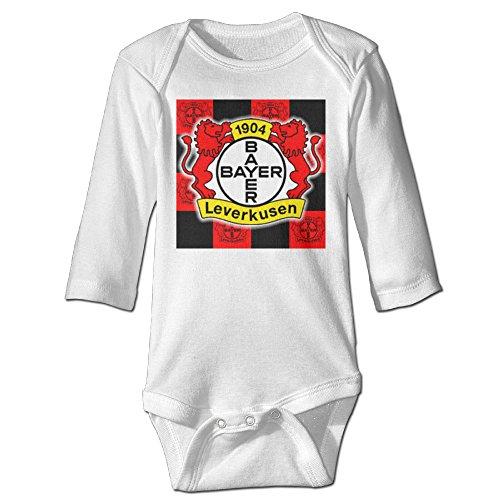 demoo-babys-bayer-04-leverkusen-long-sleeve-clothes-bodysuit-climbing-clothes
