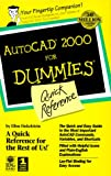 img - for AutoCAD 2000 For Dummies Quick Reference book / textbook / text book