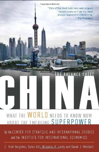 Read Online China: The Balance Sheet: What the World Needs to Know Now About the Emerging Superpower ebook