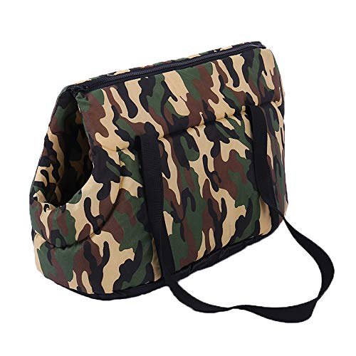 Pet Purse Travel Carrier Bag, Soft Sided Great Carrier for Puppy's Small Dogs & Large Cats. Durable & Comfortable Lightweight Pet Travel Carrier for all your Pet Adventures.