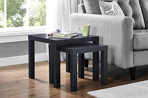 DHP DZ84241 Joana 2-Piece, Black Oak Nesting Table, ()