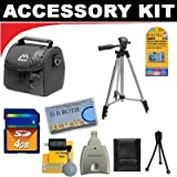 Deluxe DB ROTH Accessory Kit For The Panasonic SDR-H80, SDR-H90 Hard Drive Camcorders