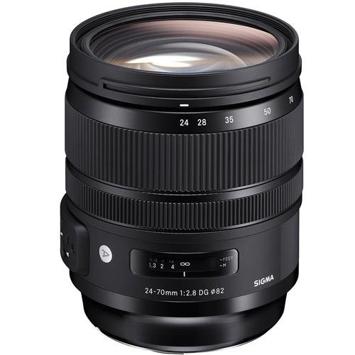 Sigma 24-70mm f/2.8 DG OS HSM Art Lens for Canon