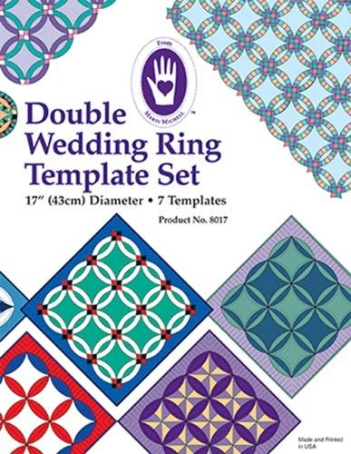 (Marti Michell 4336997437 Double Wedding Ring Template)