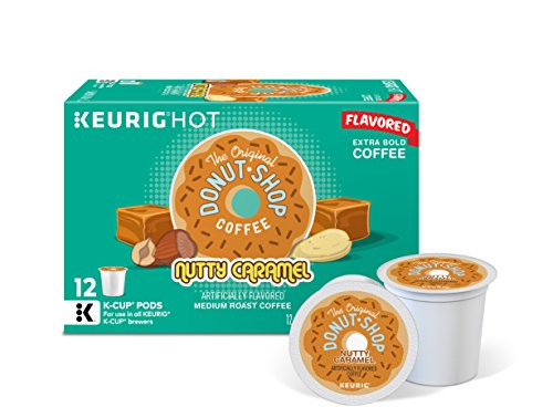 Top 10 best donut shop coffee k-cup nutty caramel for 2019