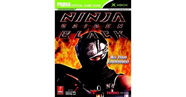 Amazon.com: Ninja Gaiden Black: Prima Official Game Guide ...